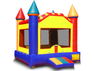 Multi-Color Castle Large 15x15 with Goal