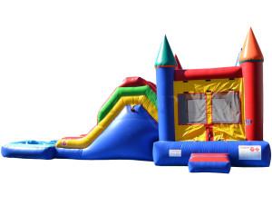 Jump N Slide w/Pool