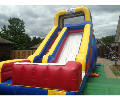 Summer Birthday with a Water Slide