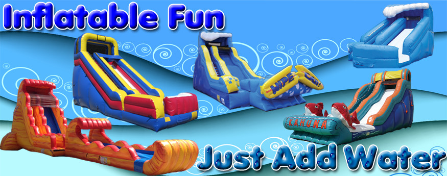 Inflatable Fun - Just Add Water