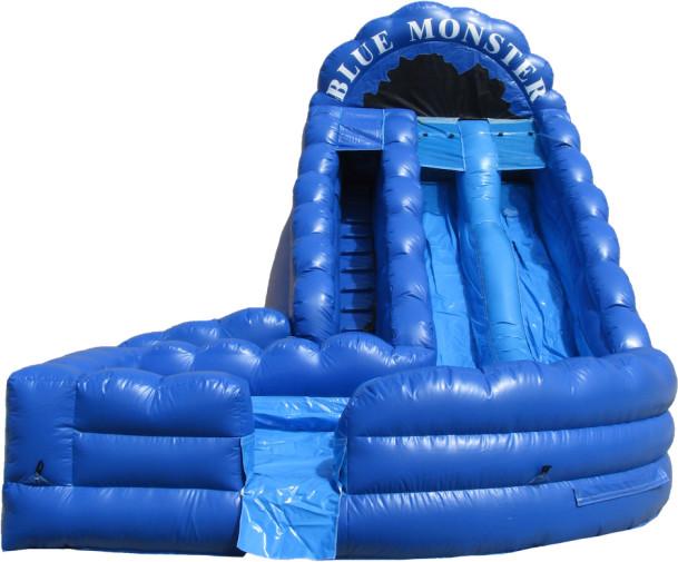 Slides Baton Rouge Blue Monster Inflatable Rentals