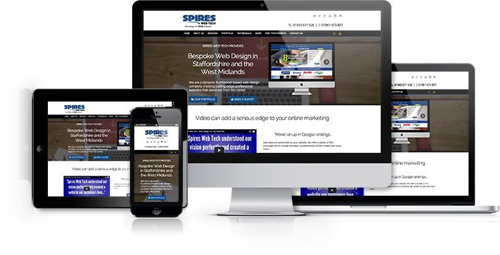 Spires Web Tech provides dynamic websites which look great on all mobile devices