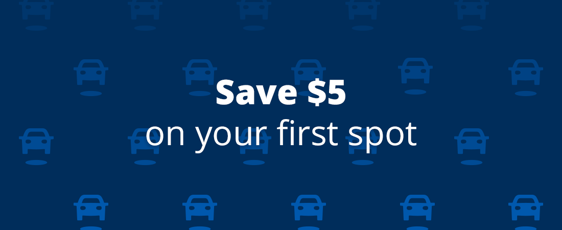 Save $5 on your first spot