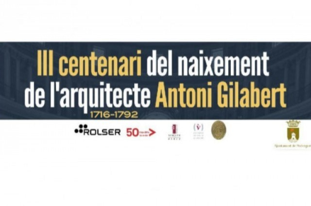 Exposicions Antoni Gilabert, arquitecte pedreguer. III CENTENARI  ANTONI GILABERT
