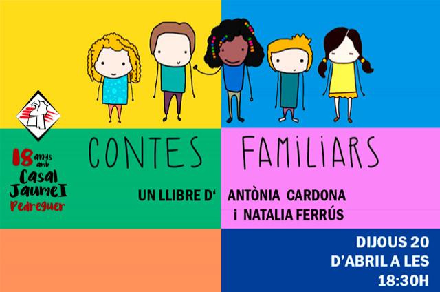Contes familiars - Casal Cultural Jaume I Pedreguer