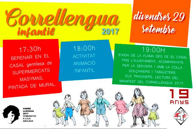 Correllengua Pedreguer 2017 / Activitats Infantils