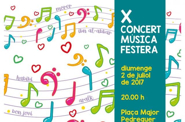 Concert Banda del Centre Artistic Musical.  XI CONCERT MÚSICA FESTERA