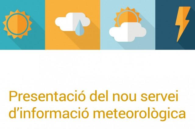PRESENTACIÓ DEL NOU SERVER D'INFORMACIÓ METEOROLÒGICA