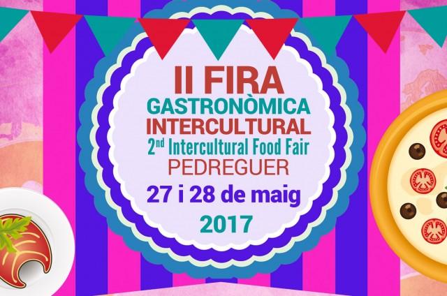 II FIRA GASTRONÒMICA INTERCULTURAL DE PEDREGUER: PROGRAMACIÓ