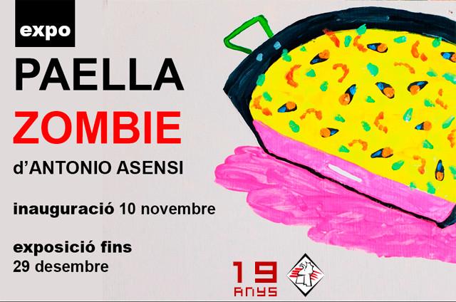Exposició PAELLA ZOMBIE