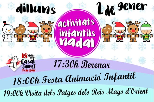 Activitats Infantils Nadal