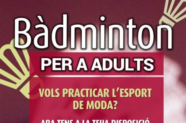 BÀDMINTON PER A ADULTS