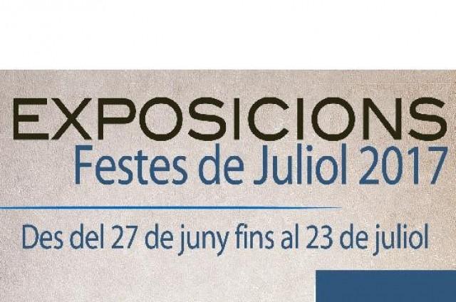 Taller de Restauració de Mobles, Taller d'Art Amadem, Taller de les Belles Arts. EXPOSICIONS DE FESTES DE JULIOL 2017