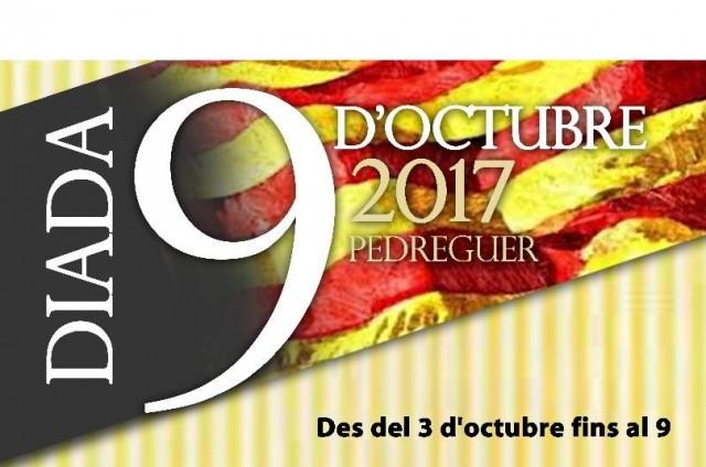 Cercavila, concert, lectura de l'acta dels XXVI Premis d'Honor Vila de Pedreguer.  DIADA DEL 9 D'OCTUBRE