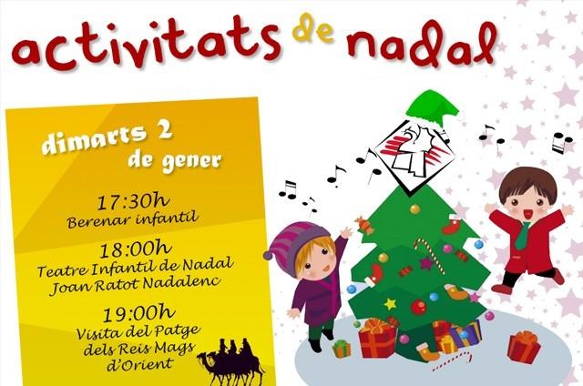 Casal en Nadal > Activitats Infantils