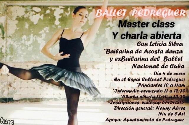 Ballet: masterclass i xerrada oberta, per Letícia Silva