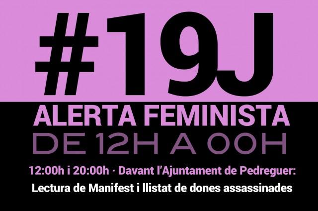 #19J ALERTA FEMINISTA