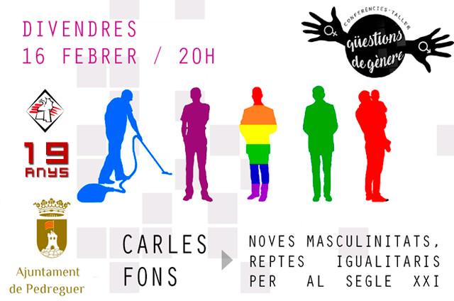 Qüestions de gènere - Conferència Carles Fons