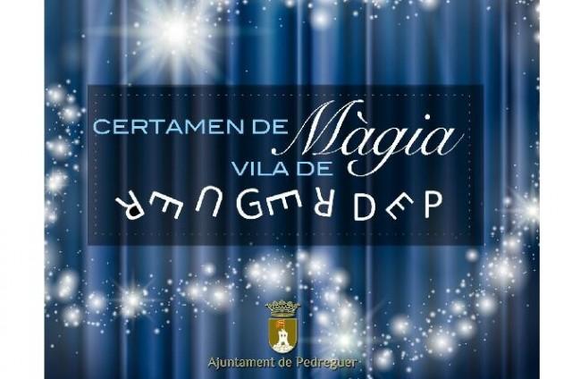 Màgia - I CERTAMENT DE MÀGIA VILA DE PEDREGUER