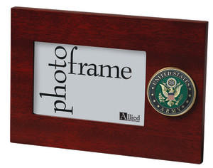 U.S. Army Medallion 4-Inch by 6-Inch Desktop Picture Frame