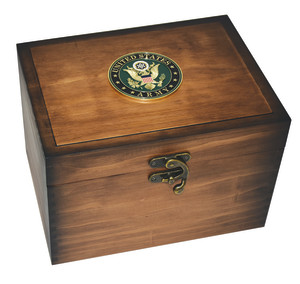 U.S. Army Medallion Keepsake Box