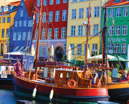 Copenhagen Waterfront 1000 Piece Puzzle