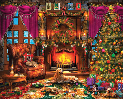 Cozy Christmas 1000 Piece Jigsaw Puzzle