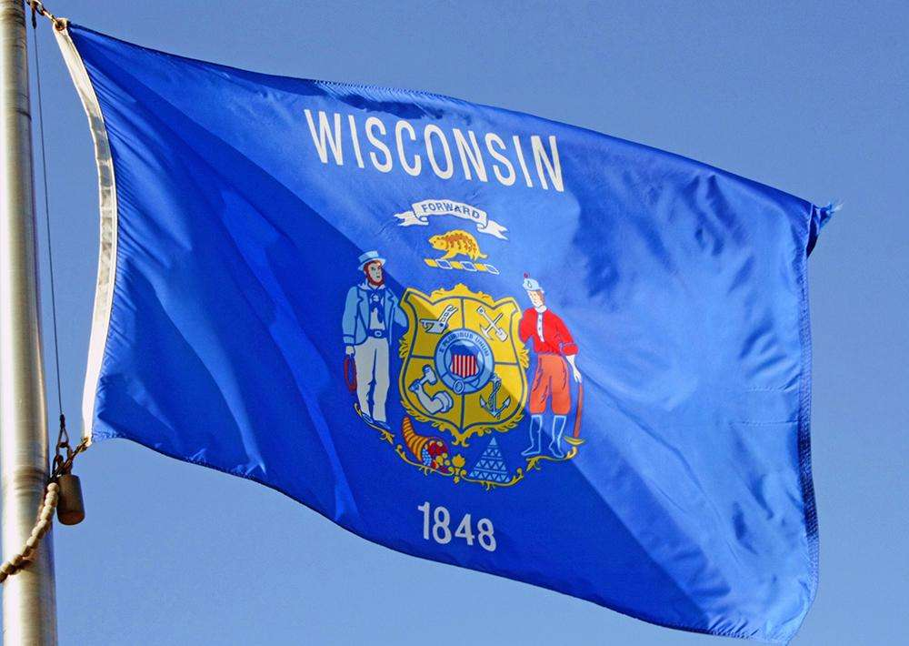 Wisconsin State Flags Nylon Amp Polyester 2 X 3 To 5 X 8
