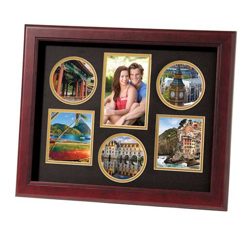 Decorative 11-Inch by 14-Inch Collage Picture Frame