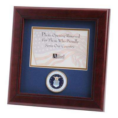 U.S. Air Force Medallion 4-Inch by 6-Inch Landscape Picture Frame