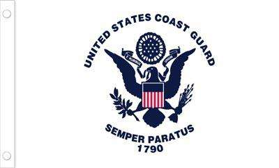 U.S. Coast Guard Flag - 3 x 5 - Polyester