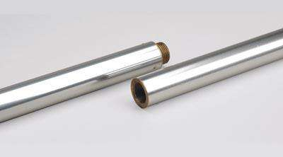 Silver Aluminum Indoor Flagpole - 9 Length 1-1/4 Diameter