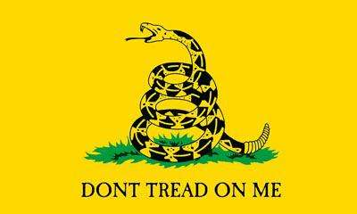 US Flag Store 3ft x 5ft Gadsden Flag