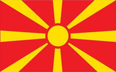 Macedonia World Flag