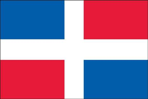 Dominican Republic World Flag
