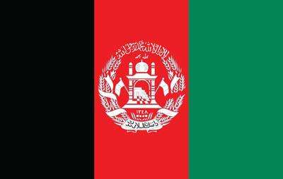 Afghanistan World Flag