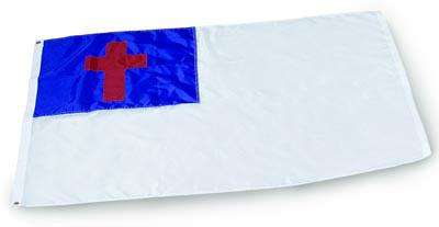 Christian Outdoor Flag - 3 x 5 - Nylon