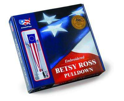 Betsy Ross Pull Down Banner - Betsy Ross Pulldown in Gift Box