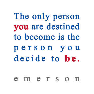 "Ralph Waldo Emerson Emerson ""To Be"" Inspirational Magnet"