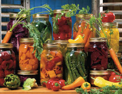 Canned Veggies 500 Piece Jigsaw Puzzle