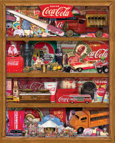 Coca-Cola A Collection 500 Piece Jigsaw Puzzle