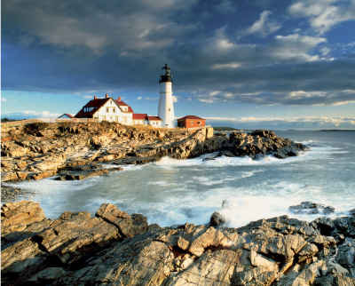 Portland Head Lighthouse 1000 Piece Jigsaw Puzzle