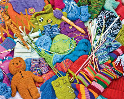 Knit Knacks 1000 Piece Jigsaw Puzzle