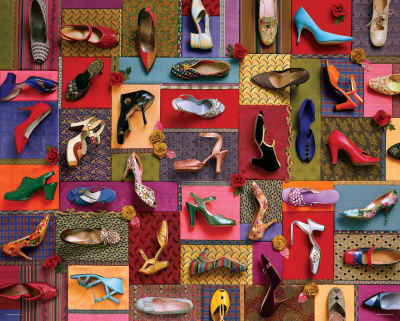 Shoes! Shoes! Shoes! 1000 Piece Jigsaw Puzzle