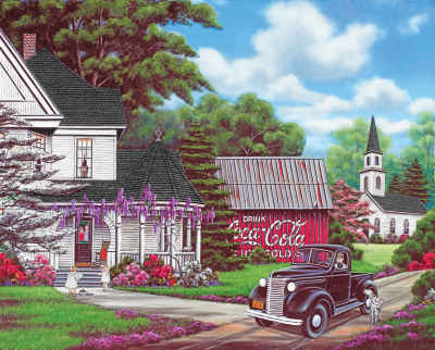 Coca-Cola Country 1000 Piece Jigsaw Puzzle