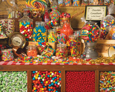 Sweet Shoppe 1000 Piece Jigsaw Puzzle
