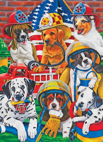 Rescue Heroes 60 Piece Jigsaw Puzzle