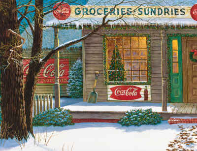 Christmas Store 500 Piece Jigsaw Puzzle