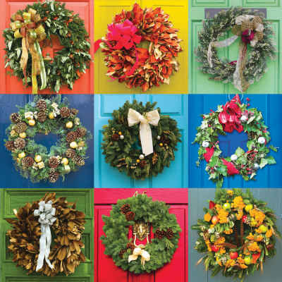 Wreaths 500 Piece Jigsaw Puzzle