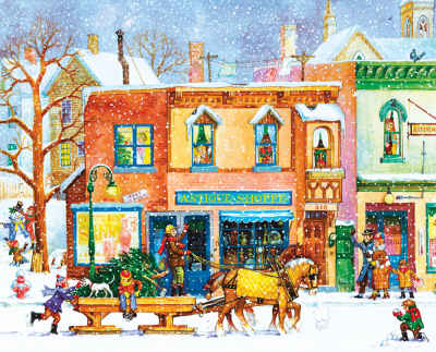 Old Time Holiday 1000 Piece Jigsaw Puzzle